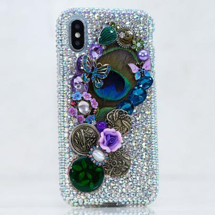 Genuine AB Crystals Case For iPhone..